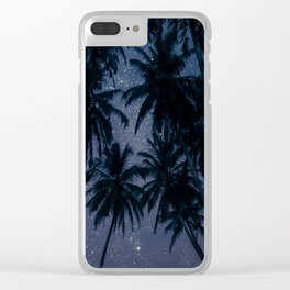 Find Me Under The Palms Clear iPhone Case