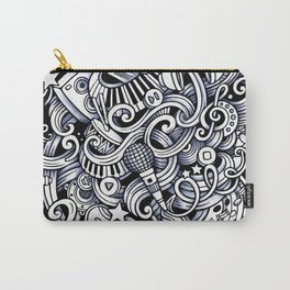 Music doodle pattern Carry-All Pouch