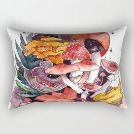Autumnal Fall Fungi Rectangular Pillow