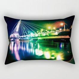 Provencher Bridge Rectangular Pillow