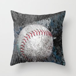 Baseball print work vs 1 Throw Pillow