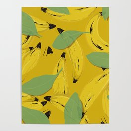Bananas to give and sell Poster