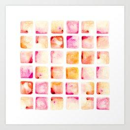 Peach Cobbler Art Print