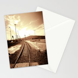 Tracks of my Heart Stationery Cards
