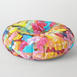 Gummy Bear Don't Care Floor Pillow