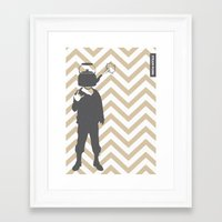 steam punk Framed Art Prints featuring Steam Punk by Jade Deluxe