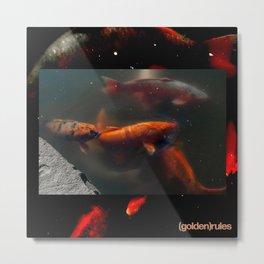 Bright Swim Metal Print