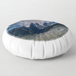 Mont Pelvoux Floor Pillow