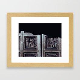 ROOSTER FOR ASCLEPIUS Framed Art Print