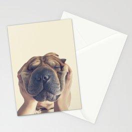 Beautiful Shar pei  Stationery Cards