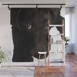 Chocolate Labrador Puppy Wall Mural