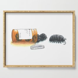 Pill bugs Serving Tray