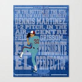 El Presidente, El Perfecto! Canvas Print