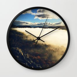 Lake of the Clouds Wall Clock