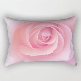 Flower | Pink Rose |  Photography | Nature | Spring | Summer Rectangular Pillow