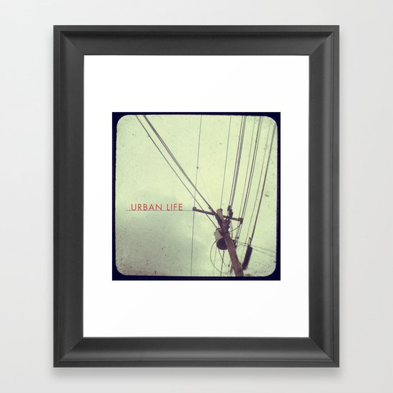 urban life project Framed Art Print