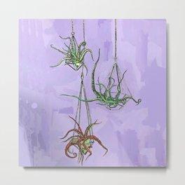 Hanging Cephaloplants Metal Print