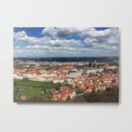 Prague Panorama Metal Print