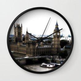 Foggy London Wall Clock