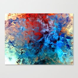 α Comae Berenices Canvas Print