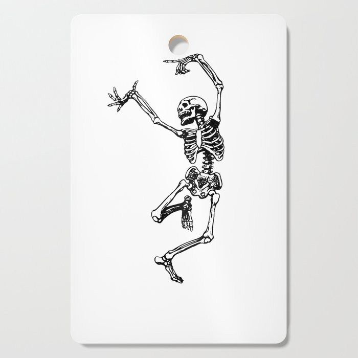 DANCING SKULL Cutting Board