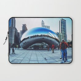Chicago Bean Laptop Sleeve