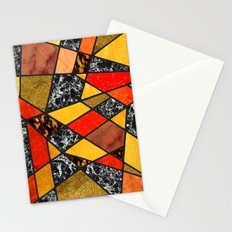 Abstract #487 Stationery Cards
