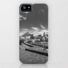View of Cape Town from The Castle of Good Hope iPhone Case