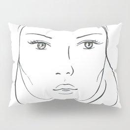 Pretty face Pillow Sham