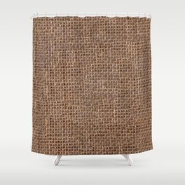 Canvas texture Shower Curtain