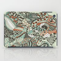 peanuts iPad Cases featuring Peanuts i wanted to be octopus by Tuky Waingan