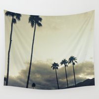 palm Wall Tapestries featuring palm by cOnNymArshAuS