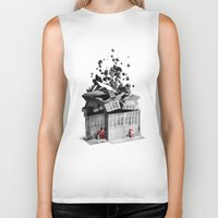 house Biker Tanks featuring house by Pal Varsanyi