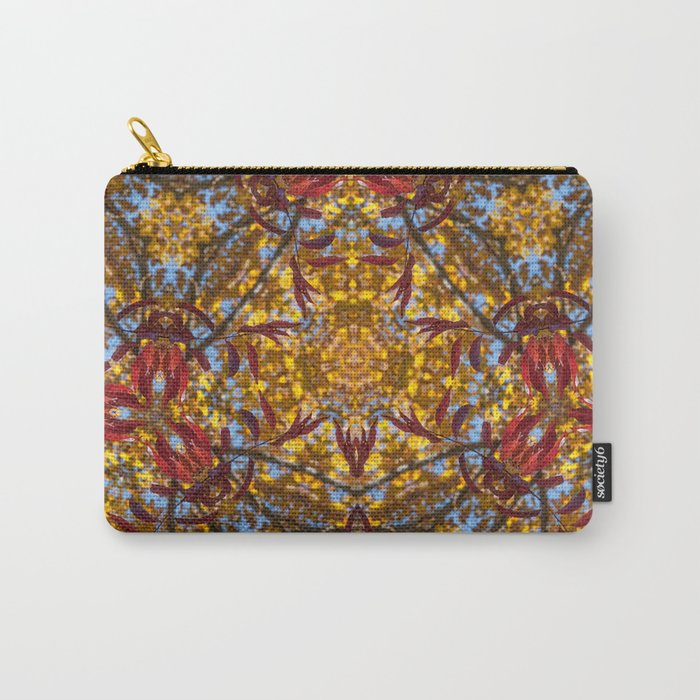 Autumn Franklinia Carry-All Pouch