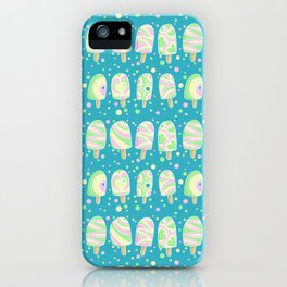 Funky Ice lollies iPhone Case