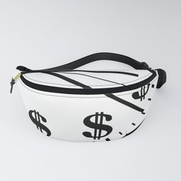 When Time Is Money Fanny Pack