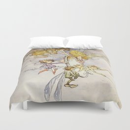 """""""The Magic Mirror"""" by Duncan Carse Duvet Cover"""