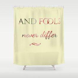 fools Shower Curtain