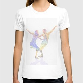 La la Land Typographic Screenplay Print T-shirt