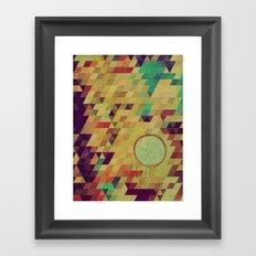 LUNA  (ANALOG Zine) Framed Art Print
