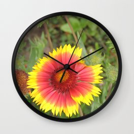 Spring in Progress Wall Clock