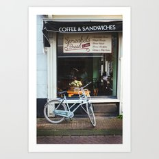 Bakery Window Art Print