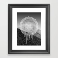 Montain Mark Framed Art Print