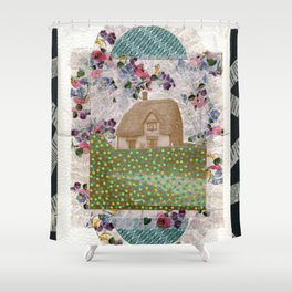 Psycho House Shower Curtain