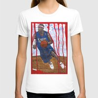 nba T-shirts featuring NBA PLAYERS - Allen Iverson by Ibbanez