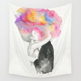 Color Me Wild Wall Tapestry