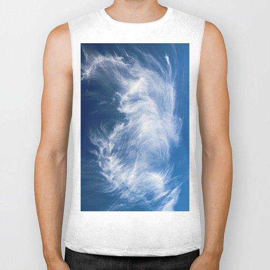 Mystical Cloud Formation Biker Tank