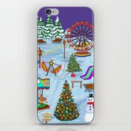 Christmas Fairground iPhone Skin