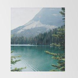 Glacier National Park II Throw Blanket