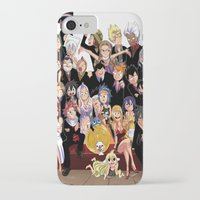 fairy tail iPhone & iPod Cases featuring Fairy Tail 8th Anniversary by Minty Cocoa